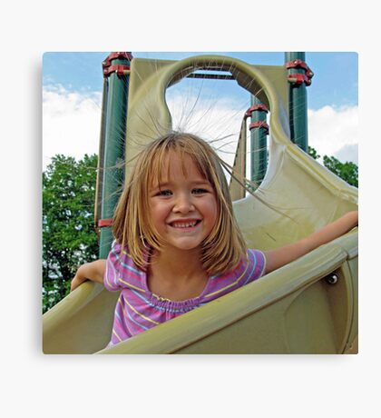 Static Slide Canvas Print