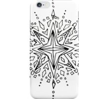 Star Drawing Design iPhone Case/Skin