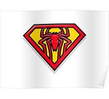 Super Spiderman Logo Poster