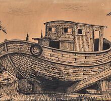Dry Docked by Bill Marsh