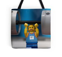 Weight Lifting Tote Bag