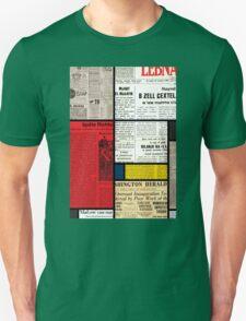 Mondrians News Unisex T-Shirt