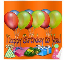 Happy Birthday to You!  Poster
