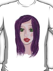 Purple hair T-Shirt