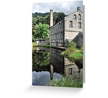 Calm as a Mill Pond Greeting Card