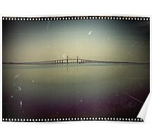 The Sunshine Skyway Bridge  Poster