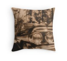 Galaxie in Sepia Throw Pillow