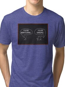 Imaginary and Irrational Tri-blend T-Shirt