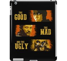 The Good, The Mad, and The Ugly iPad Case/Skin
