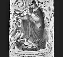 Collectible COPY of French Holy Card by CatholiCARDS
