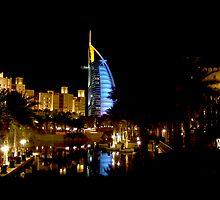Dubai at Night by dsuart