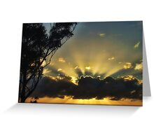 "'Morning Aura"" Greeting Card"