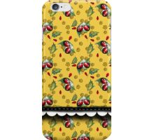 LADYBUGS YELLOW iPhone Case/Skin