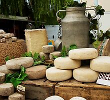 Cheese in the Market Place by Bruce Alexander