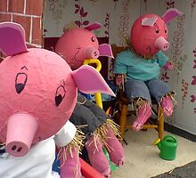 Three little pigs from school are we... by MikeShort