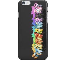 pokemon eevee espeon umbreon sylveon chibi anime shirt iPhone Case/Skin