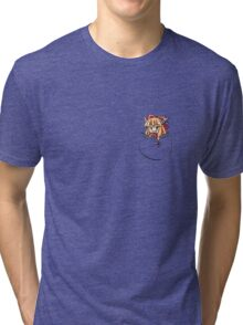 Touhou - Mini Pocket Suika Tri-blend T-Shirt