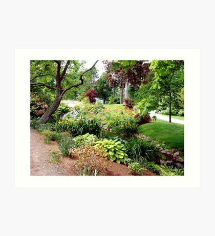 Halifax Public Gardens Art Print
