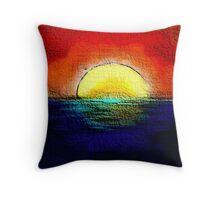 SunburntSky Throw Pillow