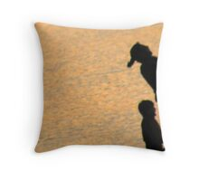 A Family That Skips Together Stays Together! Throw Pillow