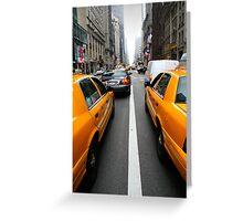 New York 3/4 Greeting Card
