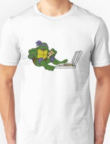TMNT - Donatello with Pizza T-Shirt