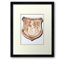 Once a King, always a King...but once a Knight is enough! Framed Print