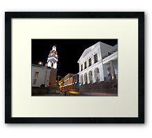 Governments Palace at night Framed Print