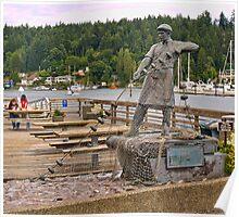 Gig Harbor Fisherman Memorial Poster