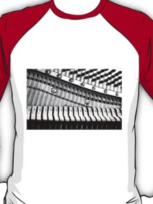 Piano Strings, Hammers & Pegs T-Shirt