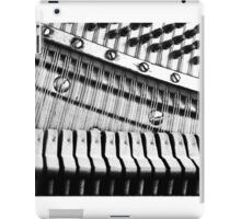 Piano Strings, Hammers & Pegs iPad Case/Skin