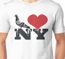 Pigeons Heart NY Unisex T-Shirt