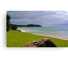 The Unending Beach Canvas Print