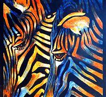 Zebras   by Carla Whelan