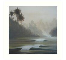 Sanshin Bay Art Print