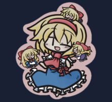Alice Margatroid and her dolls Kids Tee