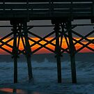Pier Sunrise by Robin D. Overacre