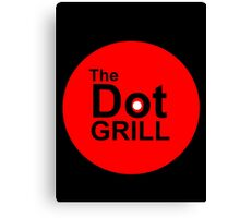 The Dot Grill Canvas Print