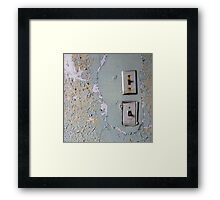 Lights Right Framed Print