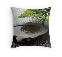 Stone Basin Zen Throw Pillow
