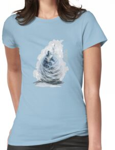 The Game of Kings, Wave Six: The White King-Rook's Pawn Womens Fitted T-Shirt