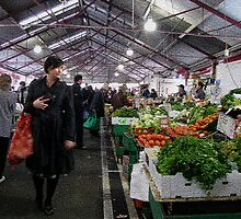 Melbourne Markets: Fruit and Veg 2 by Ian Ker