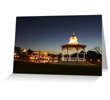 """ Elder Park, Adelaide, South Australia"" Greeting Card"