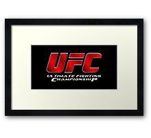 UFC | Ultimate Fighting Championship | Main Event  Framed Print
