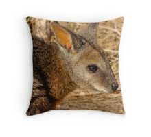 Sparkle in the eye Throw Pillow