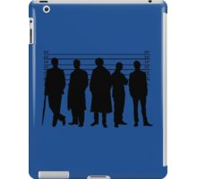 The Usual Holmesian Suspects iPad Case/Skin