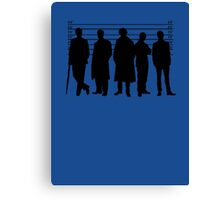 The Usual Holmesian Suspects Canvas Print