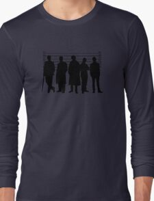 The Usual Holmesian Suspects Long Sleeve T-Shirt