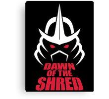 Dawn of the Shred Canvas Print
