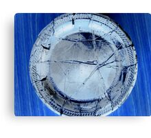The Broken Plate Canvas Print
